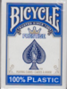 Bicycle Poker Prestige 100% Plastic Jumbo - Blue