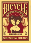 Bicycle Poker Sideshow Freaks