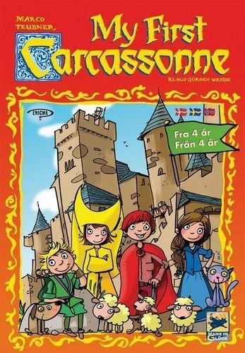 My first Carcassonne (scand)