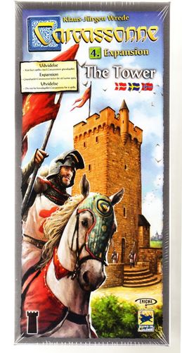Carcassonne svenskt: 4 The Tower