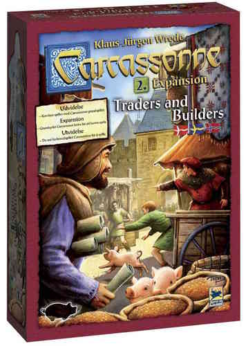 Carcassonne svenskt: 2 Traders and Builders