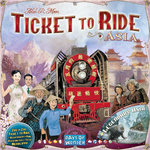 Ticket to Ride Map Collection: 1 Team Asia