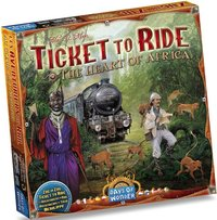 Ticket to Ride Map Collection: 3 Heart of Africa