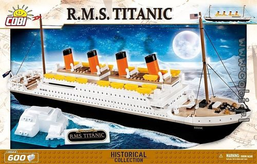 R.M.S Titanic -  600 pcs NEW Version!