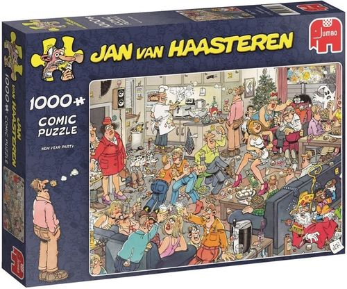 Jan van Haasteren - New Year Party - 1000 bitar