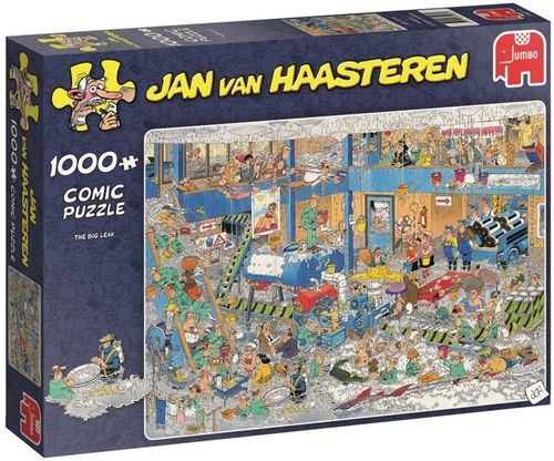 Jan van Haasteren - The Big Leak - 1000 bitar