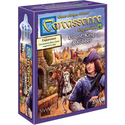 Carcassonne: 6 - Count, King, & Robber