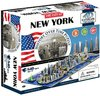 4D Cityscape Puzzle - New York, USA