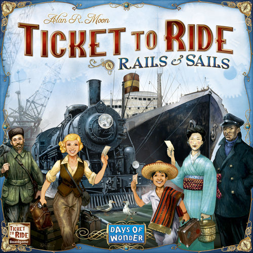Ticket to Ride: Rails & Sails (eng)