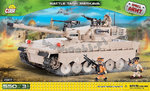 Battle Tank Merkava - 550 pcs, 3 figurer