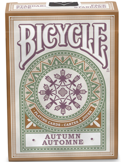 Bicycle Poker Autumn