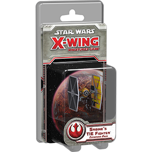 Star Wars: X-Wing Miniatures Game - Sabine's TIE Fighter Exp.