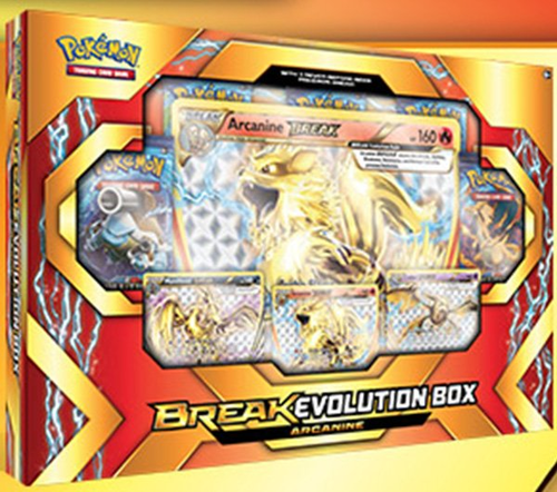 Break Evolution Box: Arcanine