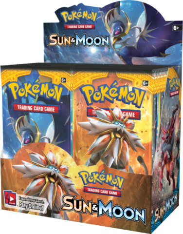 Sun & Moon Booster Display