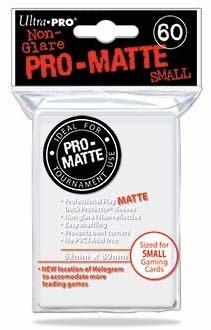 Deck Protector Small Pro-Matte 60 st 62 x 89 mm - White