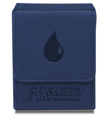 Deck Box Flip Magic the Gathering - Blue Mana
