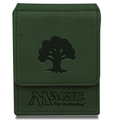 Deck Box Flip Magic the Gathering - Green Mana