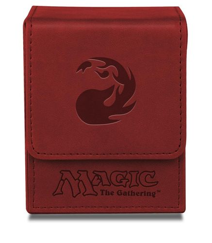 Deck Box Flip Magic the Gathering - Red Mana