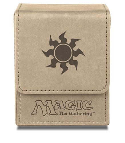 Deck Box Flip Magic the Gathering - White Mana