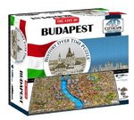 4D Cityscape Puzzle - Budapest, Hungary