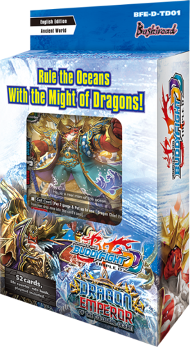 Triple D Trial Deck Vol. 1 Dragon Emperor of the Colossal Ocean