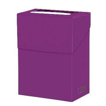 Deck Box Solid Plum