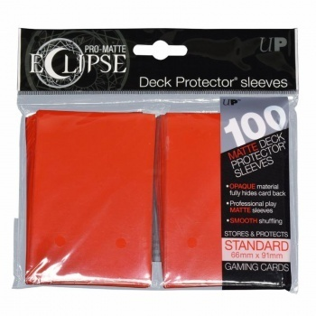 Deck Protector Eclipse Pro-Matte Standard 100 st Apple Red