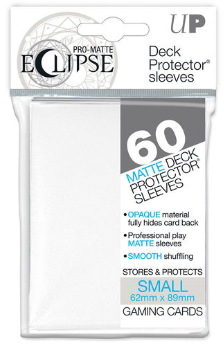 Deck Protector Small Eclipse Pro-Matte 60 st White