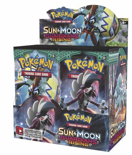 Sun & Moon 2 - Guardians Rising Booster Display
