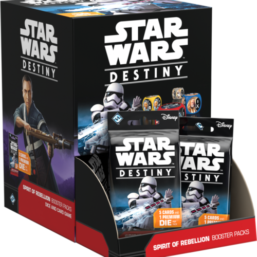 Star Wars: Destiny - Spirit of Rebellion Booster Display
