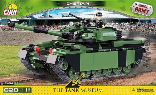 Chieftain, 620 pcs