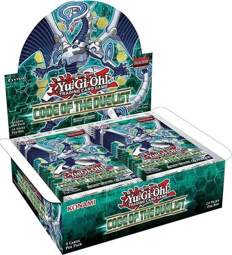 Code of the Duelist Booster Display