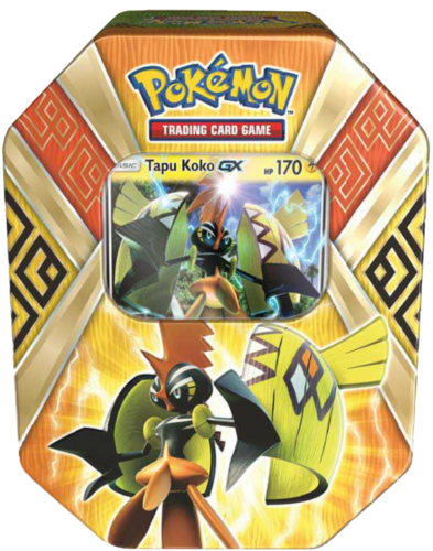 2017 Summer Tin Island Guardians: Tapu Koko-GX