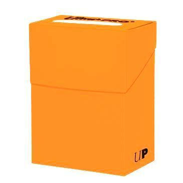 Deck Box Solid Orange