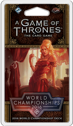 A Game of Thrones: The Card Game - 2016 World Championship Deck