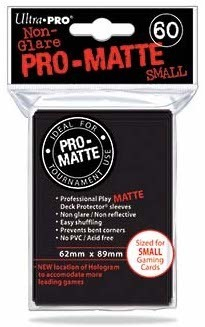 Deck Protector Small Pro-Matte 60 st 62 x 89 mm - Black