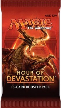 Hour of Devastation Booster Pack med 15 kort