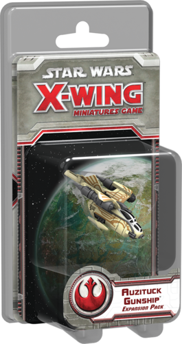 Star Wars: X-Wing Miniatures Game – Auzituck Gunship