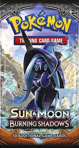 Sun & Moon 3 - Burning Shadows Booster