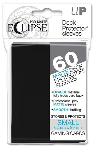 Deck Protector Eclipse Pro-Matte Small 60 st Black