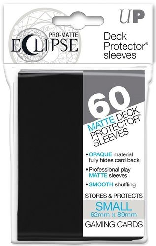 Deck Protector Small Eclipse Pro-Matte 60 st Black