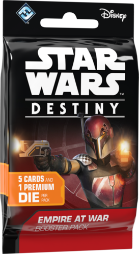 Star Wars: Destiny -  Empire at War Booster Pack Display