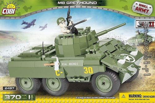 M8 Greyhound, 370 pcs