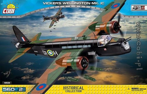 Vickers Wellington Mk.1C, 560 pcs
