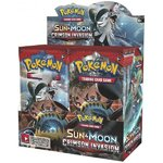 Sun & Moon 4 - Crimson Invasion Booster Display