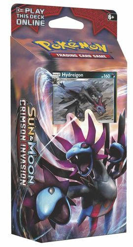 Sun & Moon 4 - Crimson Invasion Theme Deck: Destruction Fang