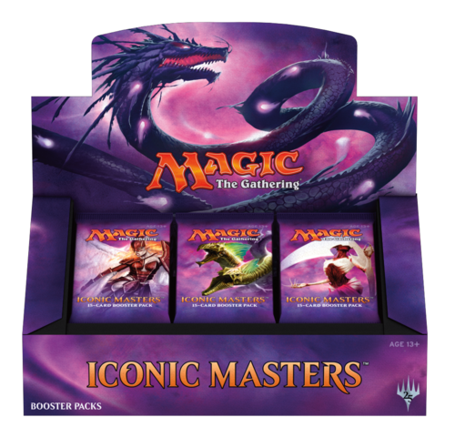Iconic Masters Booster Display
