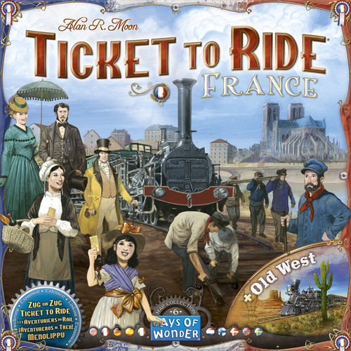 Ticket to Ride Map Collection: 6 France/Old West