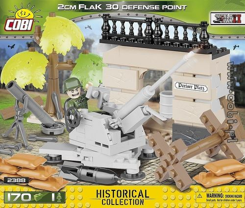 2cm Flak 30 Defense Point 170 pcs