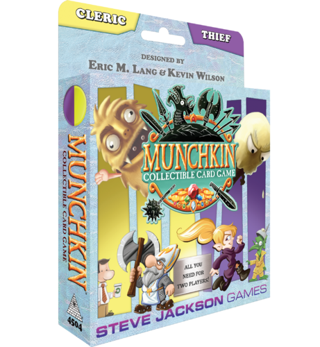 Munchkin Collectible Card Game: Cleric & Thief Starter